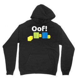 oof! funny blox noob gamer t  shirt gifts for gamers Unisex Hoodie | Artistshot