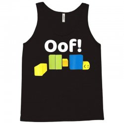 oof! funny blox noob gamer t  shirt gifts for gamers Tank Top | Artistshot