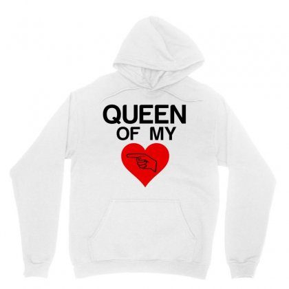 Queen Of My Heart Matching Couple Unisex Hoodie
