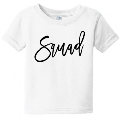 Squad Baby Tee Designed By Toweroflandrose