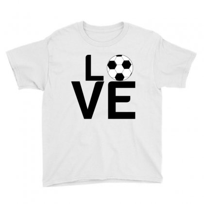 Soccer Love Youth Tee Designed By Perfect Designers