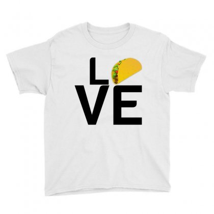 Tacos Love Youth Tee Designed By Perfect Designers