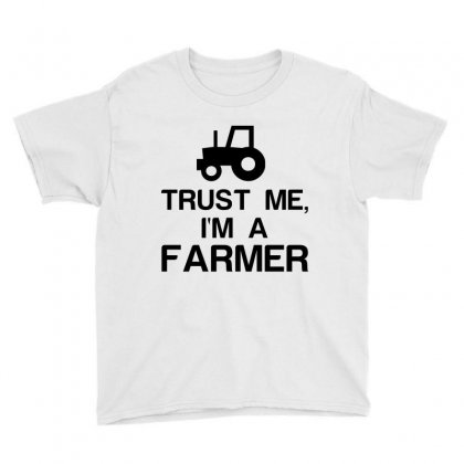 Trust Me, I'm A Farmer Youth Tee Designed By Perfect Designers