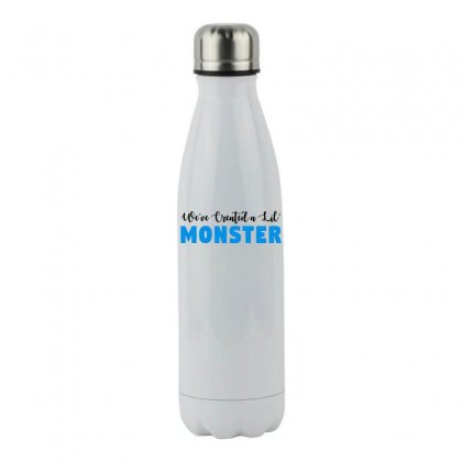We've Created A Lil' Family Matching Adult Stainless Steel Water Bottle Designed By Toweroflandrose
