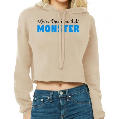 We've Created A Lil' Family Matching Adult Cropped Hoodie Designed By Toweroflandrose