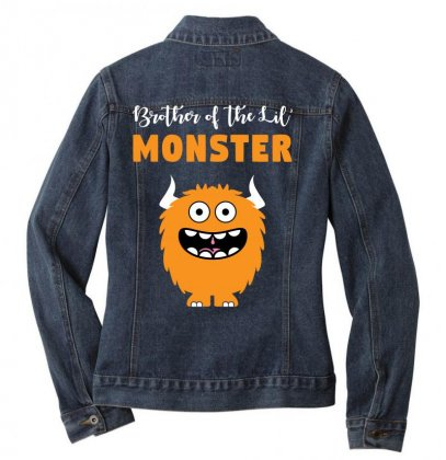 We've Created A Lil' Family Matching Brother Ladies Denim Jacket Designed By Toweroflandrose