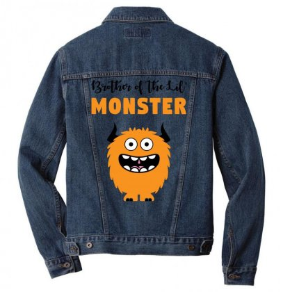 We've Created A Lil' Family Matching Brother Men Denim Jacket Designed By Toweroflandrose