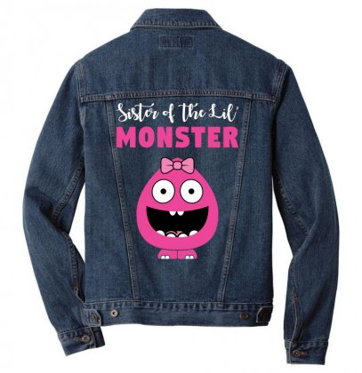We've Created A Lil' Family Matching Sister Men Denim Jacket Designed By Toweroflandrose