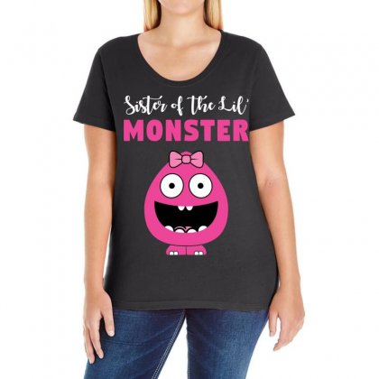 We've Created A Lil' Family Matching Sister Ladies Curvy T-shirt Designed By Toweroflandrose