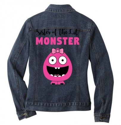 We've Created A Lil' Family Matching Sister Ladies Denim Jacket Designed By Toweroflandrose