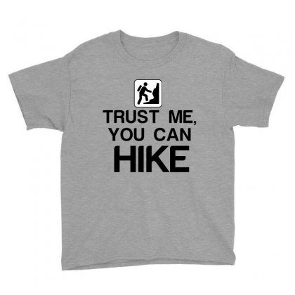 Trust Me, You Can Hike Youth Tee Designed By Perfect Designers
