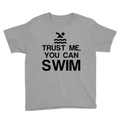 Trust Me, You Can Swim Youth Tee Designed By Perfect Designers