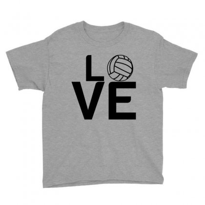 Volleyball Love Youth Tee Designed By Perfect Designers