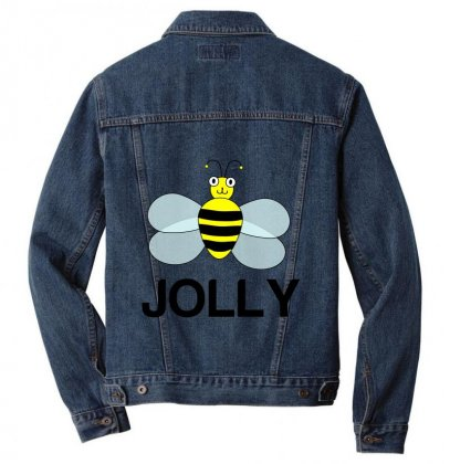 Be Jolly Men Denim Jacket Designed By Perfect Designers