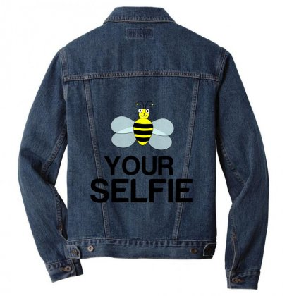 Be Your Selfie Men Denim Jacket Designed By Perfect Designers