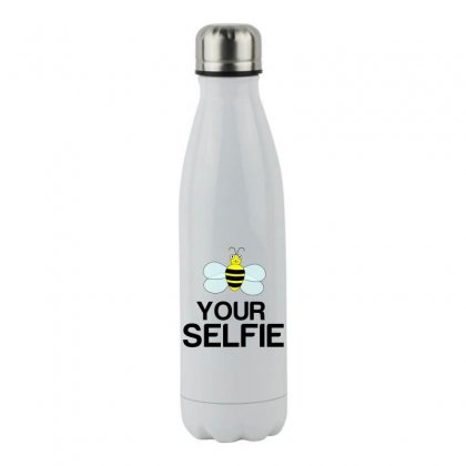 Be Your Selfie Stainless Steel Water Bottle Designed By Perfect Designers