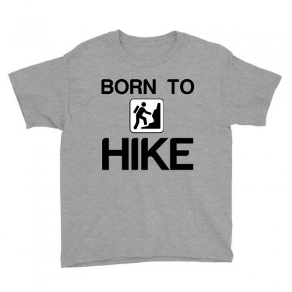 Born To Hike Youth Tee Designed By Perfect Designers
