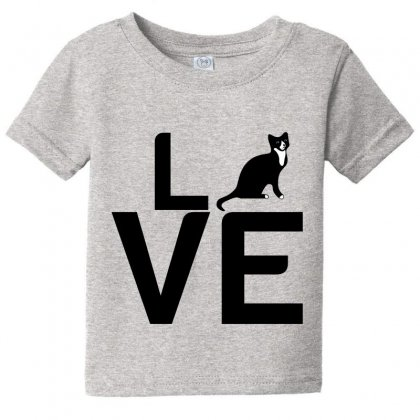 Cat Love Baby Tee Designed By Perfect Designers