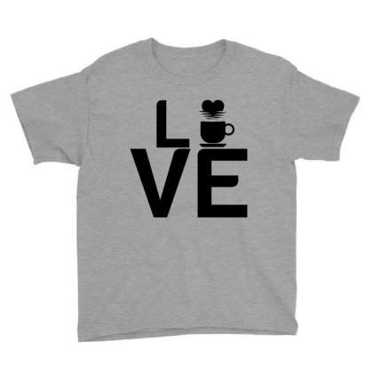 Coffee Love Youth Tee Designed By Perfect Designers