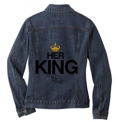Couple Her King Ladies Denim Jacket Designed By Perfect Designers