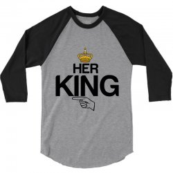 couple her king 3/4 Sleeve Shirt | Artistshot