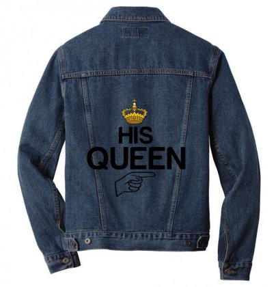 Couple His Queen Men Denim Jacket Designed By Perfect Designers