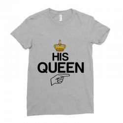 couple his queen Ladies Fitted T-Shirt | Artistshot