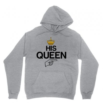 Couple His Queen Unisex Hoodie