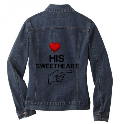 Couple His Sweetheart Ladies Denim Jacket Designed By Perfect Designers