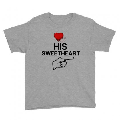 Couple His Sweetheart Youth Tee Designed By Perfect Designers