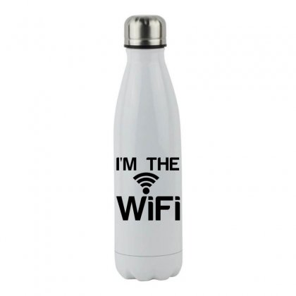 Couple I'm The Wifi Stainless Steel Water Bottle Designed By Perfect Designers