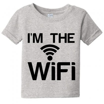 Couple I'm The Wifi Baby Tee Designed By Perfect Designers