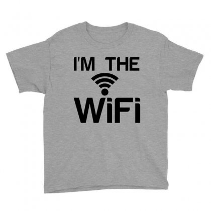 Couple I'm The Wifi Youth Tee Designed By Perfect Designers