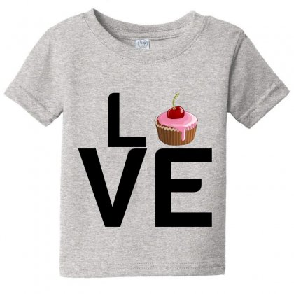 Cupcake Love Baby Tee Designed By Perfect Designers