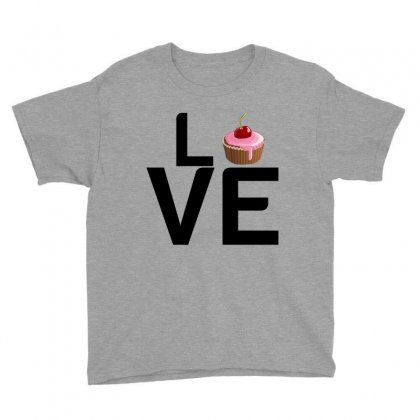 Cupcake Love Youth Tee Designed By Perfect Designers
