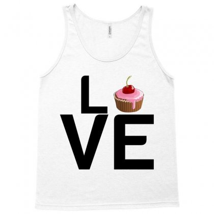 Cupcake Love Tank Top Designed By Perfect Designers