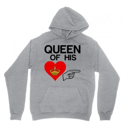Couple Queen Of His Heart Unisex Hoodie
