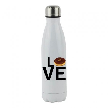 Donut Love Stainless Steel Water Bottle Designed By Perfect Designers