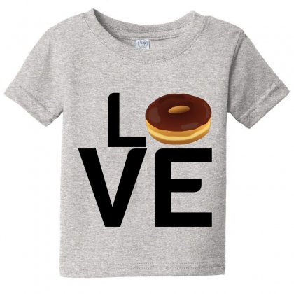 Donut Love Baby Tee Designed By Perfect Designers
