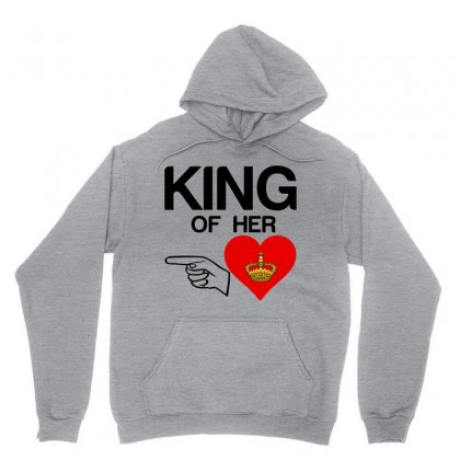 Couple King Of Her Heart Unisex Hoodie