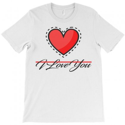 I Love You T-shirt Designed By Emadaldeans
