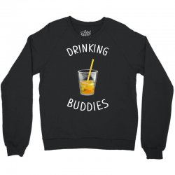 watercolor drinking buddies family matching juice Crewneck Sweatshirt | Artistshot