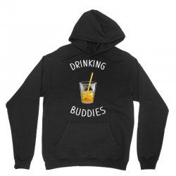 watercolor drinking buddies family matching juice Unisex Hoodie | Artistshot
