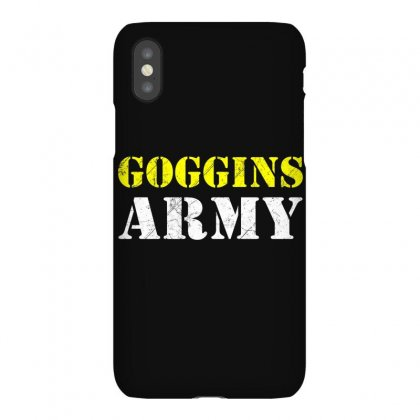 What Would Goggings Do Iphonex Case Designed By Disgus_thing