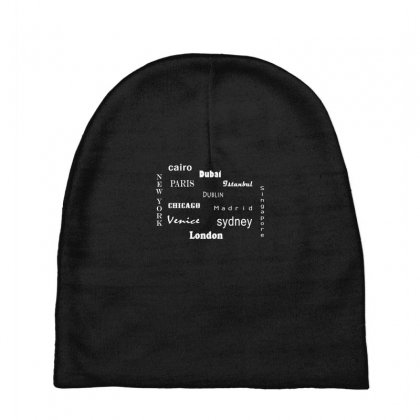 Famous Cities Baby Beanies Designed By Lulu50