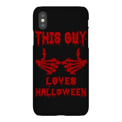 Halloween 2019 This Guy Loves Halloween Iphonex Case Designed By Twinklered.com