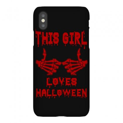 Halloween 2019 This Girl Loves Halloween Iphonex Case Designed By Twinklered.com