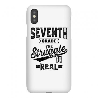 7th Grade The Struggle Is Real Iphonex Case Designed By Ale C. Lopez