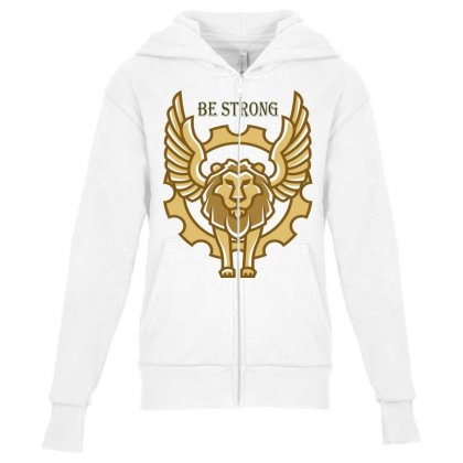 Lion Youth Zipper Hoodie Designed By Islam 1297