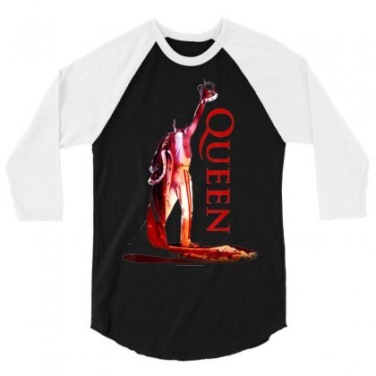 Queen Official Crowned Colour T Shirt 3/4 Sleeve Shirt Designed By Tran Ngoc